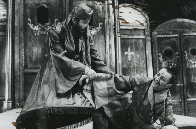 burghezul gentilom, 1988 - mihai maniutiu
