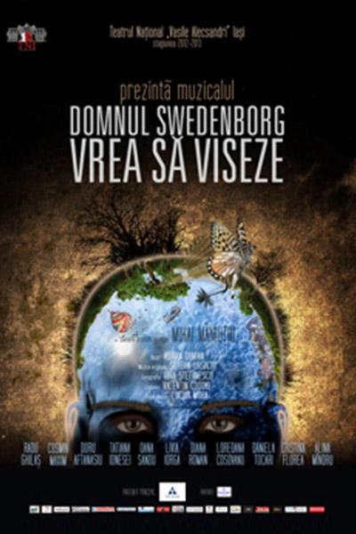domnul swedenborg, 2013 - mihai maniutiu, afis