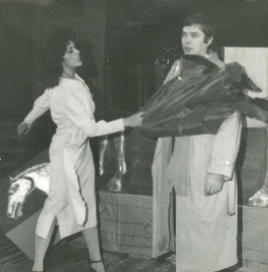 omul cu martoaga, 1985 - mihai maniutiu